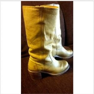 Women's Frye Boots Campus 14 L size 6 1/2 Rugged